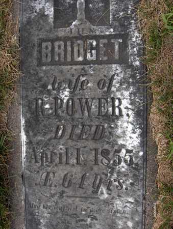 POWER, BRIDGET - Dubuque County, Iowa | BRIDGET POWER