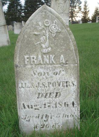 POWERS, FRANK A. - Dubuque County, Iowa | FRANK A. POWERS