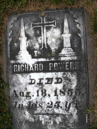 POWERS, RICHARD - Dubuque County, Iowa | RICHARD POWERS