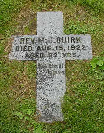 QUIRK, REV. MICHAEL J. - Dubuque County, Iowa | REV. MICHAEL J. QUIRK