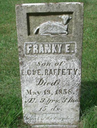 RAFFETY, FRANKY E. - Dubuque County, Iowa | FRANKY E. RAFFETY