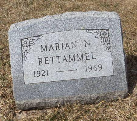 RETTAMMEL, MARIAN N. - Dubuque County, Iowa   MARIAN N. RETTAMMEL