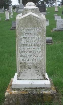 RITTER, MARGARET K. - Dubuque County, Iowa | MARGARET K. RITTER