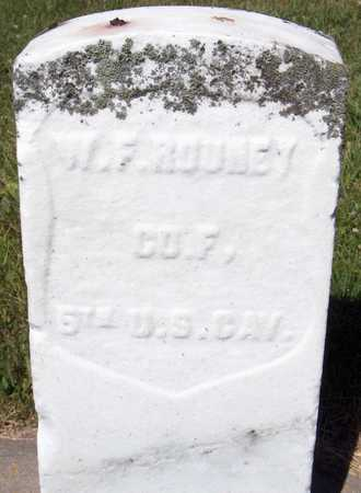 ROONEY, W.F. - Dubuque County, Iowa | W.F. ROONEY