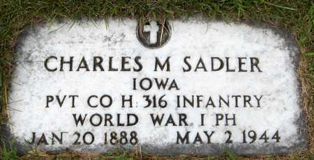 SADLER, CHARLES M. - Dubuque County, Iowa | CHARLES M. SADLER