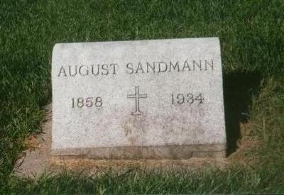SANDMANN, AUGUST - Dubuque County, Iowa | AUGUST SANDMANN