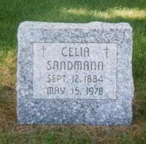 SANDMANN, CELIA - Dubuque County, Iowa | CELIA SANDMANN