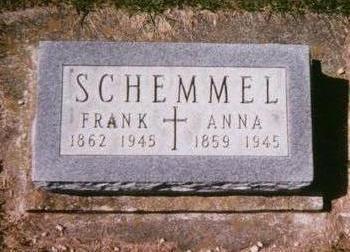 SCHEMMEL, ANNA - Dubuque County, Iowa | ANNA SCHEMMEL
