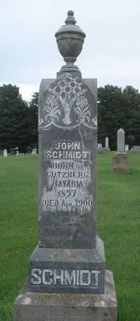 SCHMIDT, JOHN - Dubuque County, Iowa | JOHN SCHMIDT