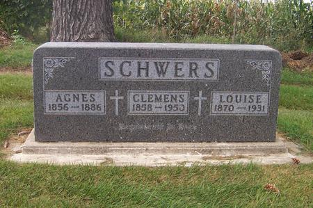 SCHWERS, LOUISE - Dubuque County, Iowa | LOUISE SCHWERS
