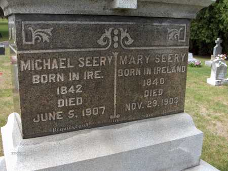 SEERY, MICHAEL - Dubuque County, Iowa | MICHAEL SEERY