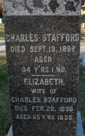 STAFFORD, ELIZABETH - Dubuque County, Iowa | ELIZABETH STAFFORD