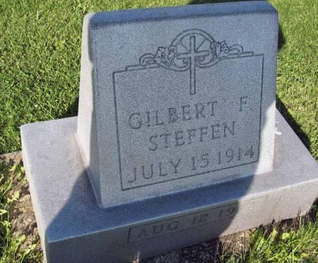 STEFFEN, GILBERT F. - Dubuque County, Iowa   GILBERT F. STEFFEN