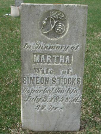 STOCKS, MARTHA - Dubuque County, Iowa | MARTHA STOCKS