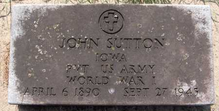 SUTTON, JOHN - Dubuque County, Iowa | JOHN SUTTON