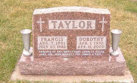 TAYLOR, FRANCIS & DOROTHY - Dubuque County, Iowa | FRANCIS & DOROTHY TAYLOR