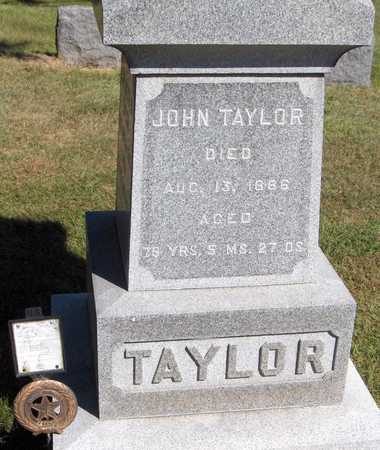 TAYLOR, JOHN - Dubuque County, Iowa | JOHN TAYLOR