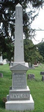 TAYLOR, JOHN - Dubuque County, Iowa   JOHN TAYLOR