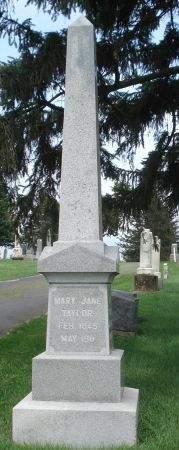 TAYLOR, MARY JANE - Dubuque County, Iowa | MARY JANE TAYLOR