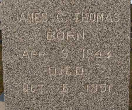 THOMAS, JAMES C. - Dubuque County, Iowa | JAMES C. THOMAS