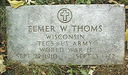 THOMS, ELMER W. - Dubuque County, Iowa | ELMER W. THOMS