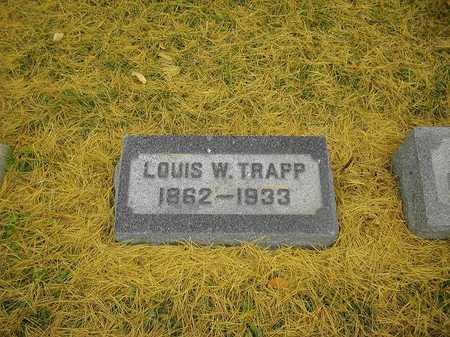 TRAPP, LOUIS W. - Dubuque County, Iowa | LOUIS W. TRAPP