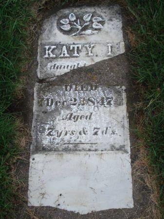UNKNOWN, KATY I. - Dubuque County, Iowa   KATY I. UNKNOWN
