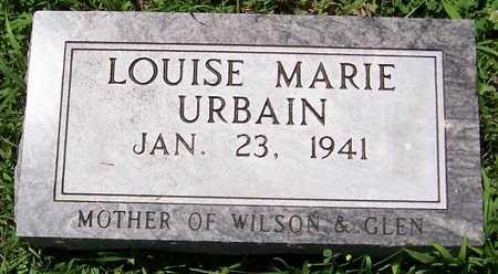 URBAIN, LOUISE MARIE - Dubuque County, Iowa | LOUISE MARIE URBAIN