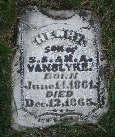VANSLYKE, HENRY - Dubuque County, Iowa | HENRY VANSLYKE
