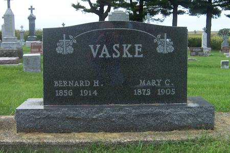NABER VASKE, MARY C. - Dubuque County, Iowa | MARY C. NABER VASKE