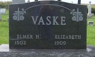 VASKE, ELMER H. - Dubuque County, Iowa | ELMER H. VASKE