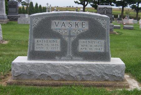 VASKE, HENRY C. - Dubuque County, Iowa | HENRY C. VASKE