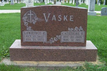 VASKE, CATHERINE B. - Dubuque County, Iowa | CATHERINE B. VASKE