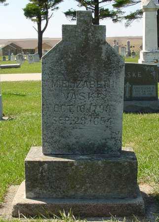 ROHENKOHL VASKE, MARIA ELIZABETH - Dubuque County, Iowa | MARIA ELIZABETH ROHENKOHL VASKE