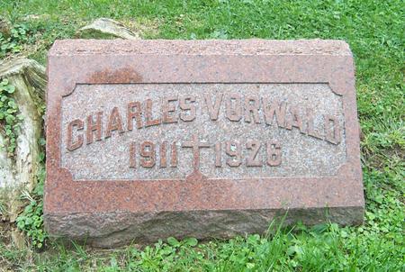 VORWALD, CHARLES - Dubuque County, Iowa | CHARLES VORWALD