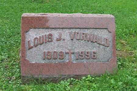 VORWALD, LOUIS J. - Dubuque County, Iowa | LOUIS J. VORWALD