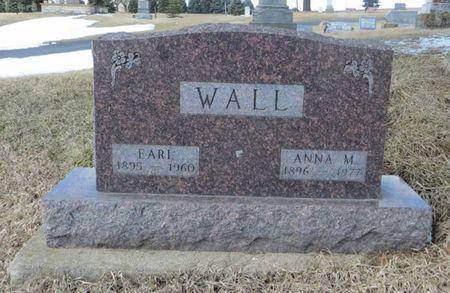 WALL, ANNA M. - Dubuque County, Iowa | ANNA M. WALL