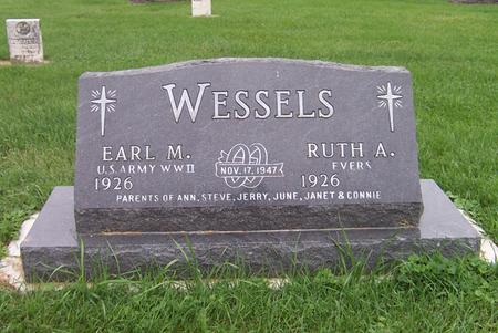 EVERS WESSELS, RUTH A. - Dubuque County, Iowa | RUTH A. EVERS WESSELS