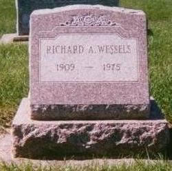 WESSELS, RICHARD A. - Dubuque County, Iowa | RICHARD A. WESSELS