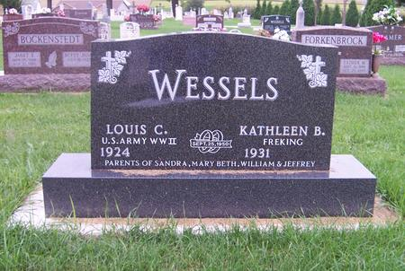 WESSLES, LOUIS C. - Dubuque County, Iowa | LOUIS C. WESSLES
