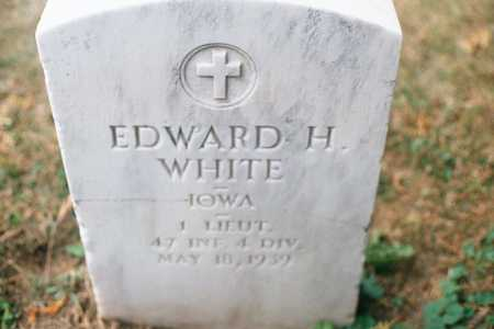WHITE, EDWARD H. - Dubuque County, Iowa | EDWARD H. WHITE
