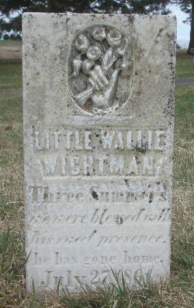 WIGHTMAN, WALLIE - Dubuque County, Iowa | WALLIE WIGHTMAN