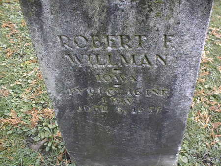 WILLMAN, ROBERT F. - Dubuque County, Iowa | ROBERT F. WILLMAN