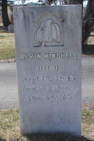 WINCHELL, ALVIN - Dubuque County, Iowa   ALVIN WINCHELL