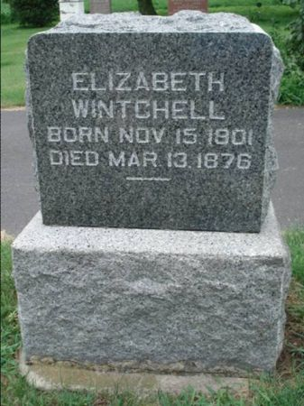 WINCHELL, ELIZABETH - Dubuque County, Iowa   ELIZABETH WINCHELL