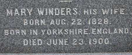 WINDERS, MARY - Dubuque County, Iowa | MARY WINDERS