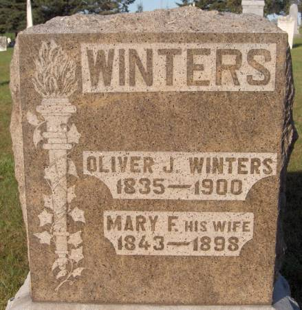 WINTERS, OLIVER J. - Dubuque County, Iowa | OLIVER J. WINTERS