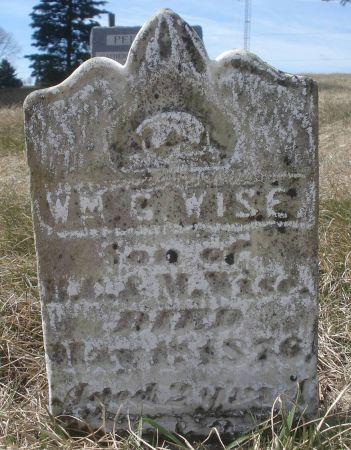 WISE, WM. G. - Dubuque County, Iowa   WM. G. WISE