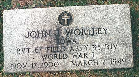 WORTLEY, JOHN J. - Dubuque County, Iowa | JOHN J. WORTLEY