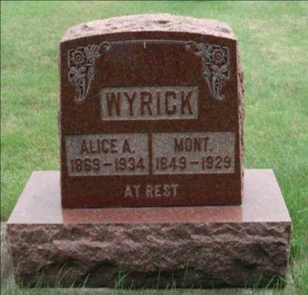 WYRICK, ALICE - Dubuque County, Iowa | ALICE WYRICK